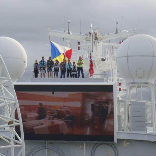 19日ブリスベン | 客船パシフィック・ジュエルの船内施設
