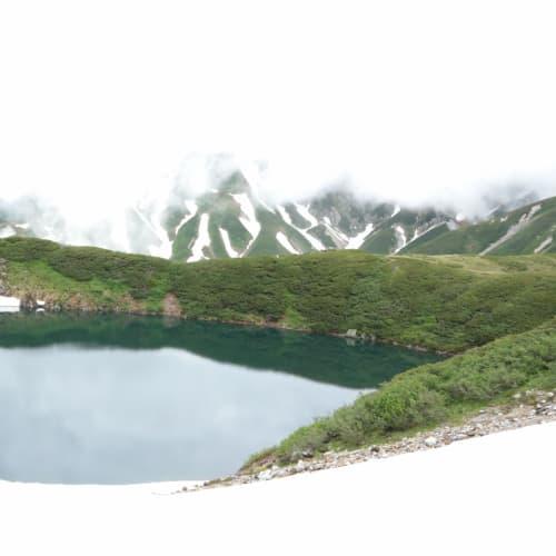 みくりが池 標高2500m | 金沢