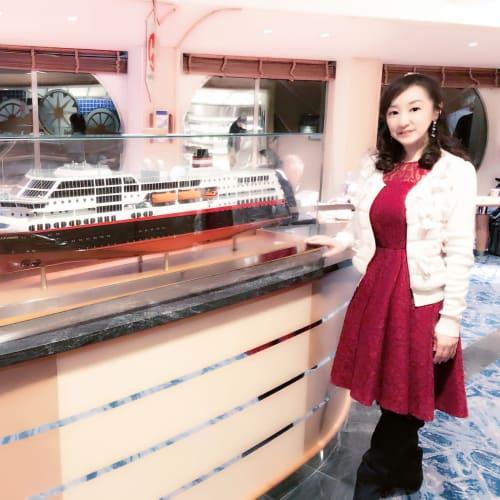 客船MSトロルフィヨルドの乗客、船内施設