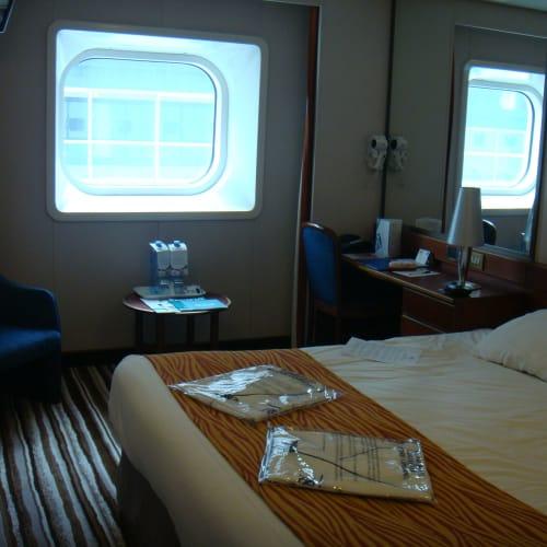 客船パシフィック・ジュエルの客室