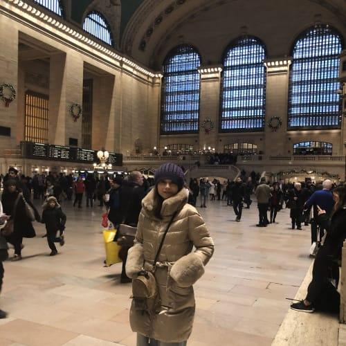 Grand Central 付近で勤務しているTakeshiの友人に会いに。   ケープ・リバティ(ニューヨーク)