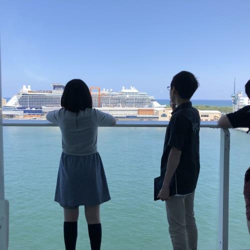 バルコニーは広さも十分にあり、眺めも最高でした。 | 客船ハーモニー・オブ・ザ・シーズの客室