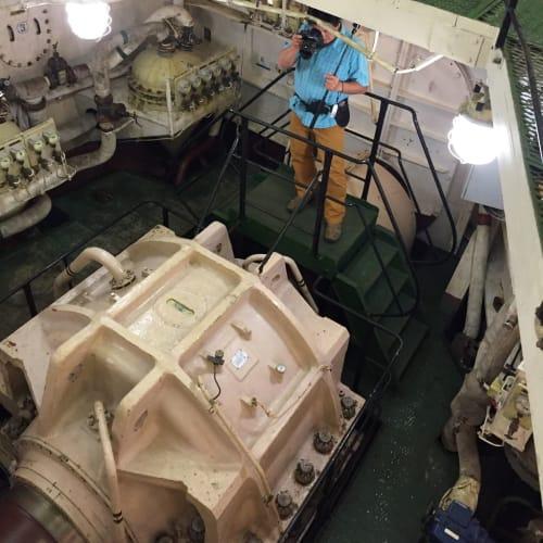 原子力砕氷船の内部です。もちろん実際の原子力があるところではないですが。 | 客船50イヤーズ・オブ・ヴィクトリーの乗客、船内施設