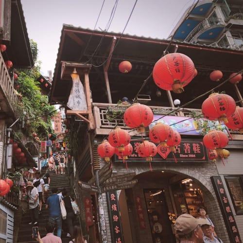 週末なので大混雑💦   基隆 / 台北
