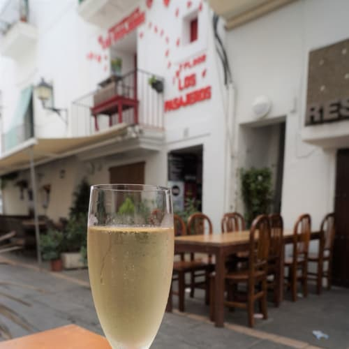 ランチはカヴァで乾杯@Ibiza | イビサ(イビサ島)