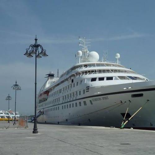 乗船したシーボーンスピリット | 客船シーボーン・スピリットの外観