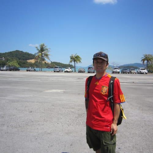 ランカウイ島は、ハイヤーの車内観光で終わってしまいました。 | ランカウイ島