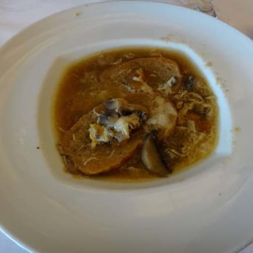 毎日イタリア料理ですが、毎日、地域が変わります。これはマルケ州料理の日。 | 客船コスタ・ネオリヴィエラのダイニング、フード&ドリンク