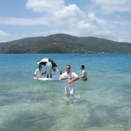 Day7#プリックリー・ペア 島#キャビア・イン・ザ・サーフ | プリックリー・ペアでの客船シーボーン・レジェンド