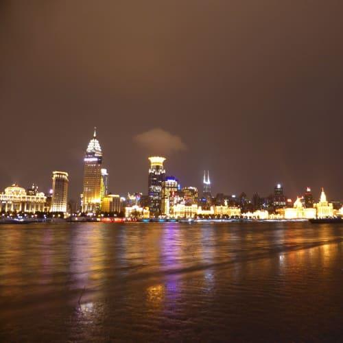 外灘の夜景、対岸より | 上海