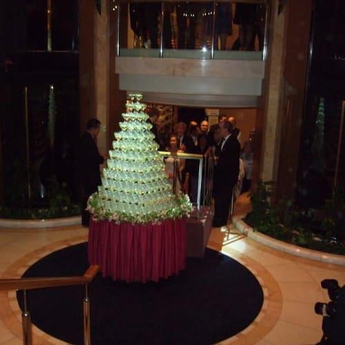 ただし、シャンペンフォールに感激したのはこの時だけ。 | 客船ドーン・プリンセスのアクティビティ、船内施設