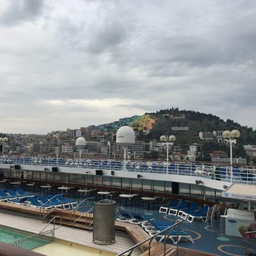 クシャダス / エフェソスでの客船セレスティアル・オリンピア