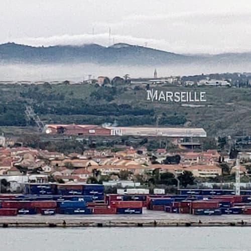 マルセイユ港の朝