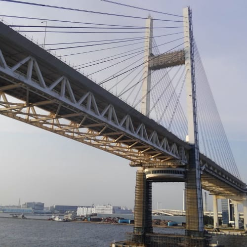 #ベイブリッジを通過 | 横浜