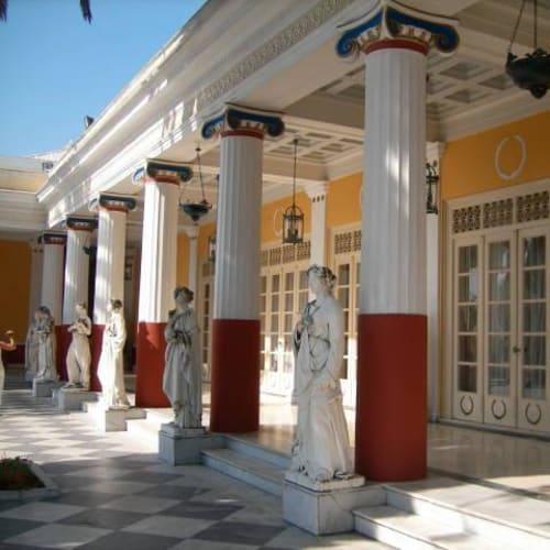 コルフ島 アヒリオン宮殿 | ケルキラ島(コルフ島)