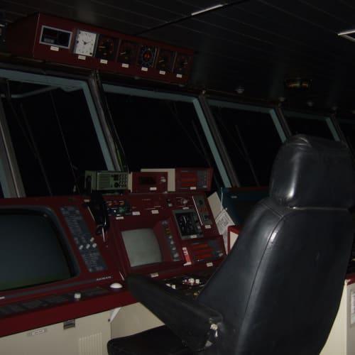 船長の椅子 | 客船アジア・スターの船内施設