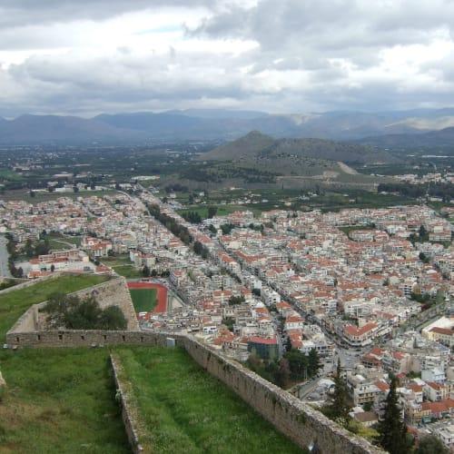 Day7#ナフプリオン#高い方の城塞から | ナフプリオ