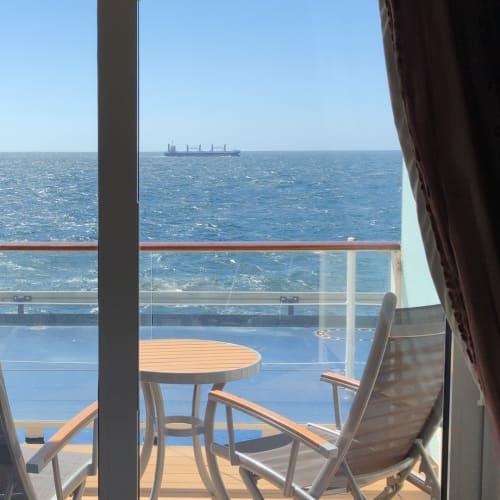 客船セレブリティ・シルエットの客室