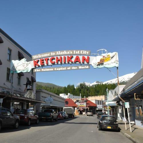 ケチカン(レビジャヒヘド諸島 / アラスカ州)