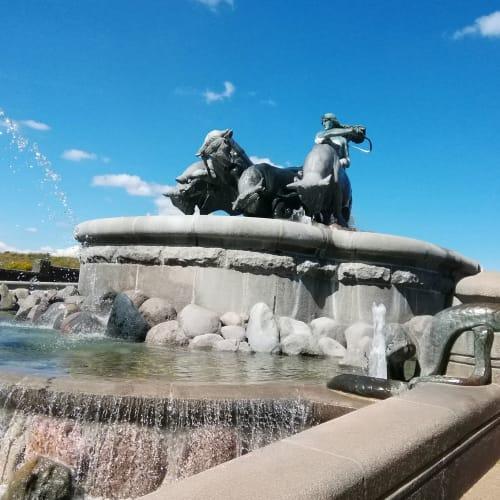 コペンハーゲン ゲフィオンの泉 | コペンハーゲン