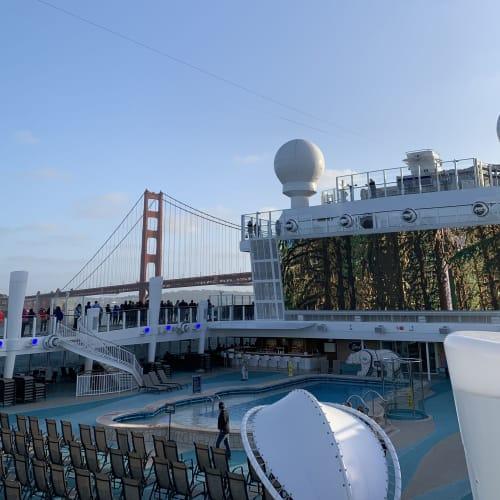 サンフランシスコ(カリフォルニア州)での客船ノルウェージャン・ブリス
