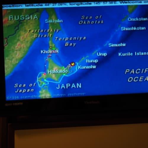 いよいよ、千島列島へ。
