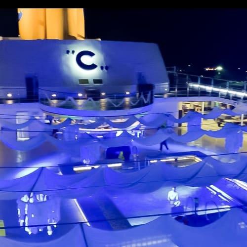 着いたその日にホワイトナイト☆ | 客船コスタ・ネオロマンチカの船内施設