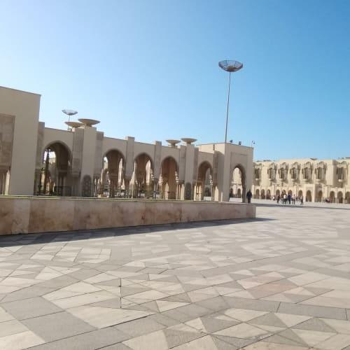 カサブランカ・ハッサン2世モスク広場 | カサブランカ