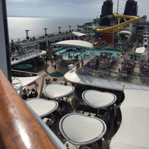 客船ノルウェージャン・エピックの船内施設