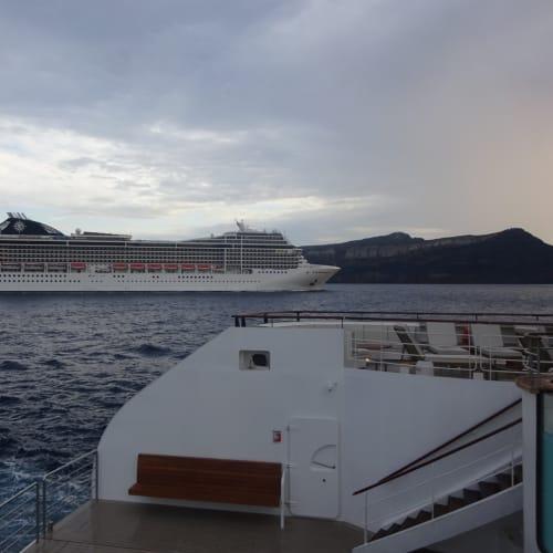 客船MSCマニフィカの外観