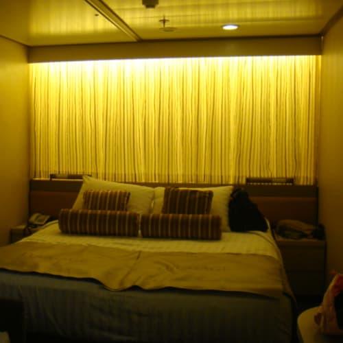 客船フォーレンダムの客室