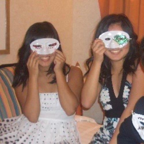 28日夜 仮面舞踏会。 | 客船コスタ・フォーチュナの乗客