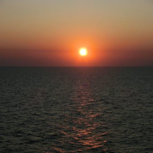 夕陽が綺麗 明日も晴天でしょう | スプリト