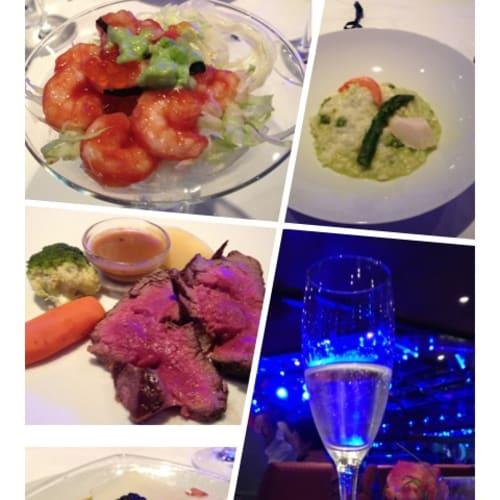 お料理も大変美味しかったです!   客船コスタ・ファシノーザのダイニング、フード&ドリンク
