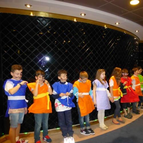 客船MSCファンタジアの乗客、アクティビティ、船内施設