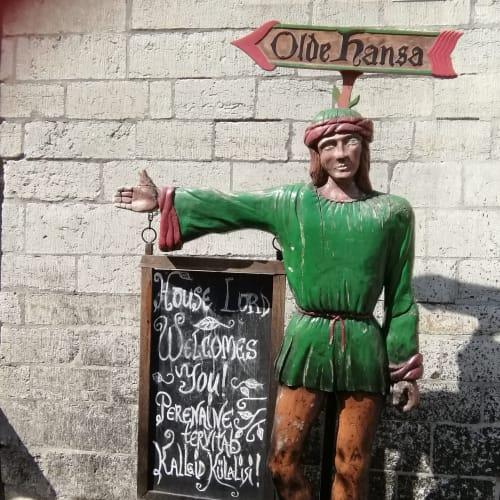 タリン オルデ・ハンザレストラン | タリン