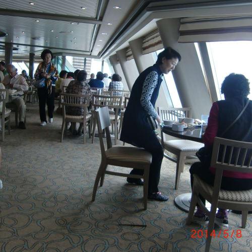 客船サン・プリンセスのブッフェ