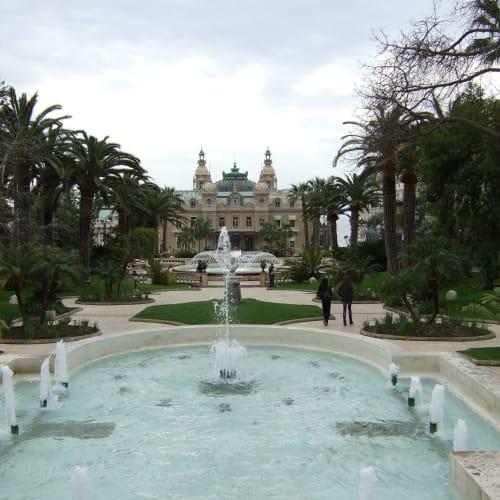 Day5#モナコ公国#モンテカルロ#グランカジノと噴水 | モンテカルロ