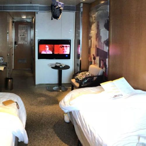 船内設備で最も満足したのが客室 | 客船コスタ・ネオロマンチカの客室