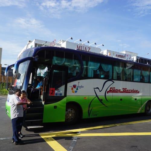 マラッカのシャトルバス。