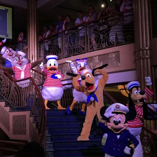 フェアウェルパーティ | 客船ディズニー・ファンタジーのアクティビティ、船内施設