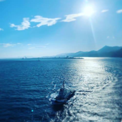 たくさんの方の支えがあって出航や寄港できてるんだなと感謝。