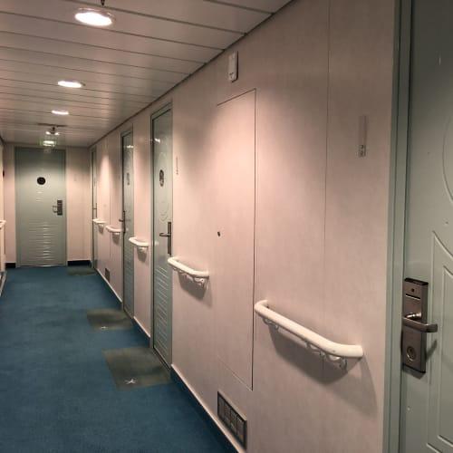 客船MSトロルフィヨルドの船内施設