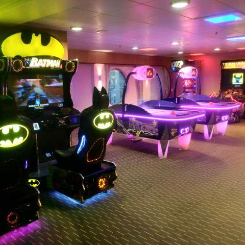ゲームコーナー | 客船ノヴァスターの船内施設