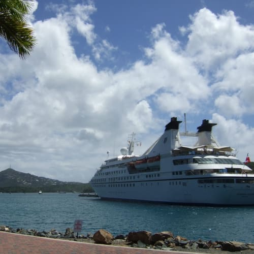 Day1#セントトーマス島#シャーロットアマリー#レジェンド | シャーロット・アマリー(セント・トーマス島)での客船シーボーン・レジェンド