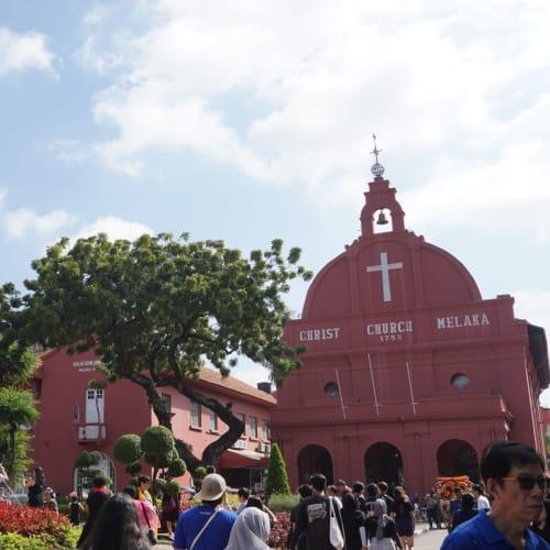 マラッカのオランダ広場にある教会。