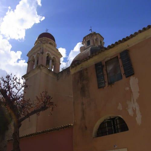 雰囲気のある教会 | ケルキラ島(コルフ島)