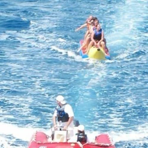 バナナボート | 客船シーボーン・スピリットのショアエクスカーション
