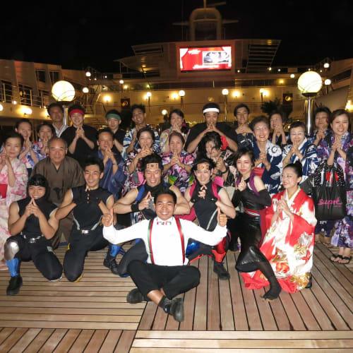 客船MSCポエジアの乗客、船内施設