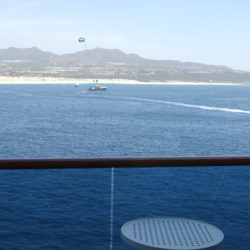 カボサンルーカス | サンルーカス岬での客船ゴールデン・プリンセス